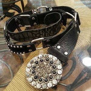 Leatherock belt